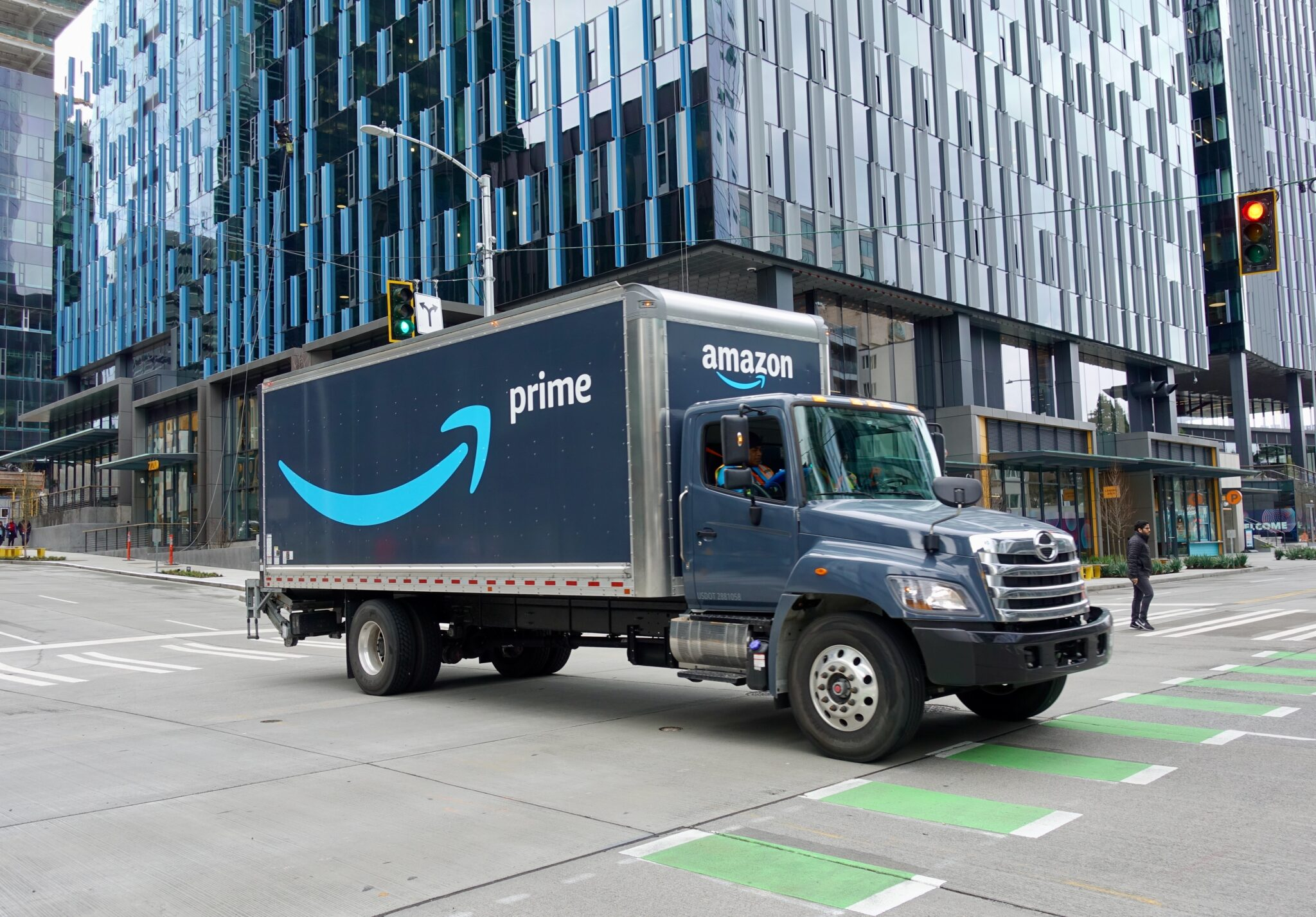 Amazon invests in startup producing 'net-zero carbon fuels' for transportation