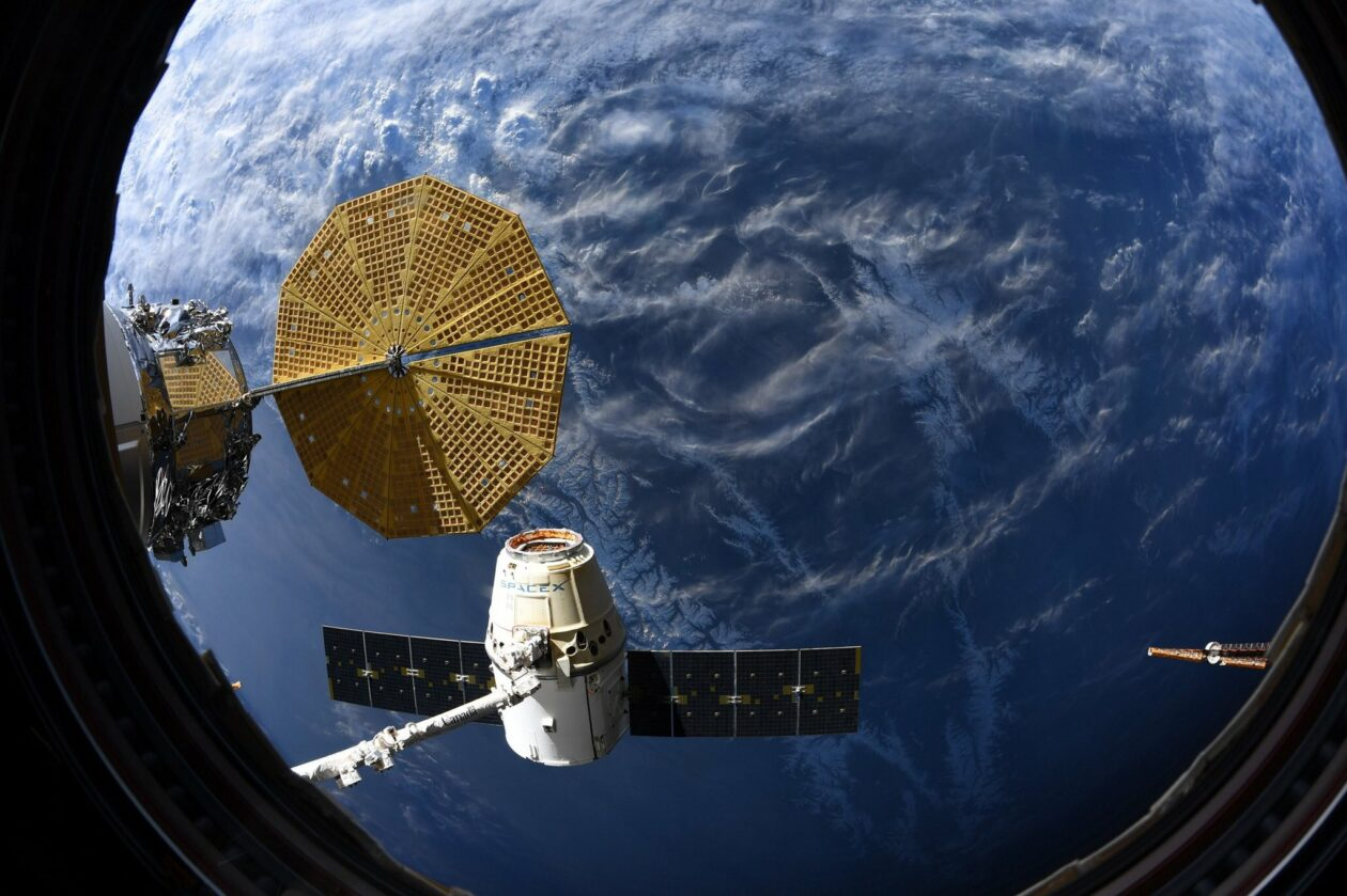 SpaceX Dragon cargo craft leaves space station and splashes down in Pacific amid virus outbreak