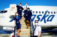 Alaska Air crew