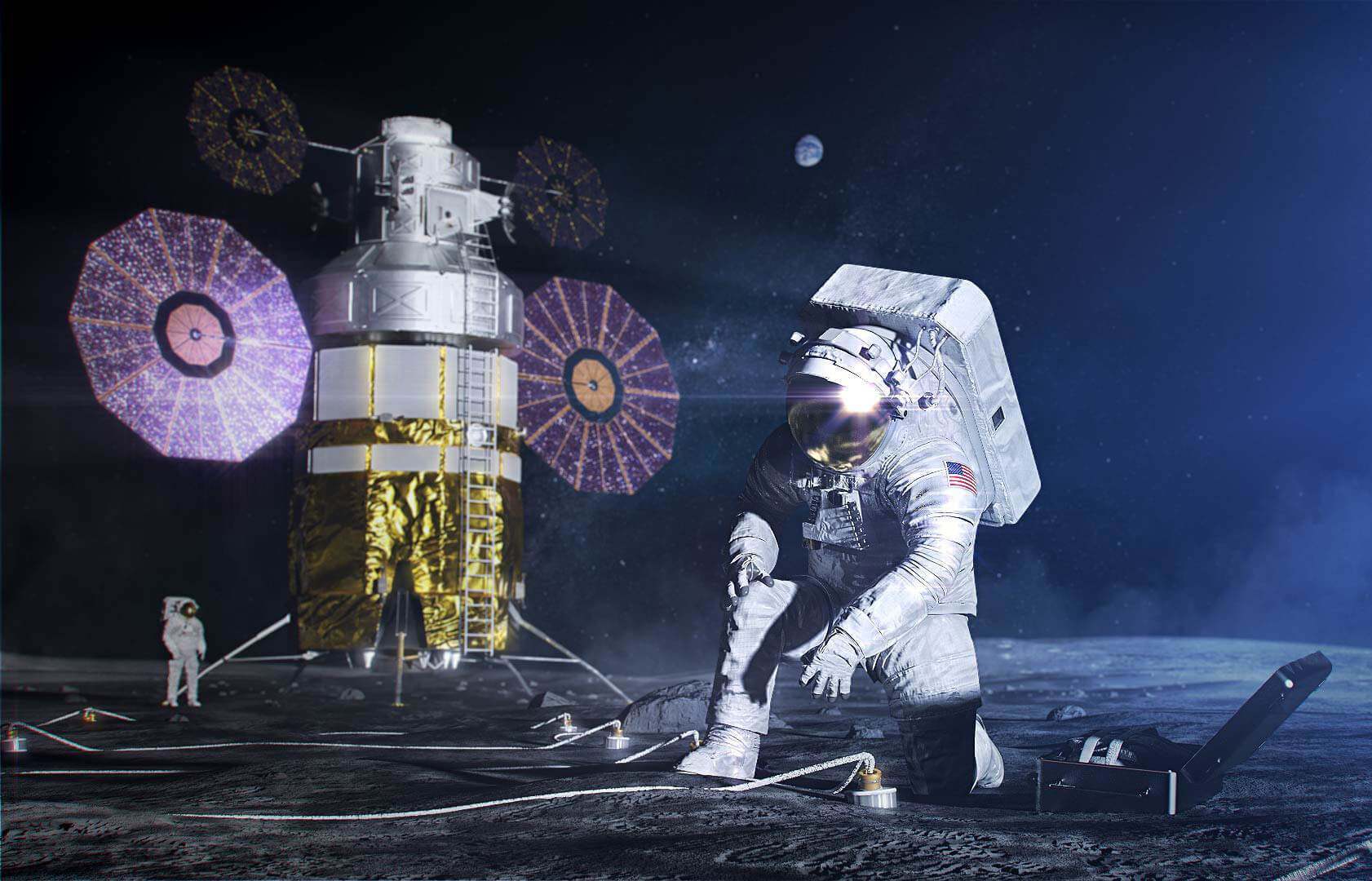 NASA lays out the 'Artemis Accords' for international cooperation on moon trips