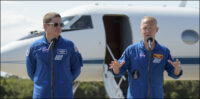 NASA astronauts Behnken and Hurley