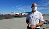Roei Ganzarski and MagniX all-electric airplane