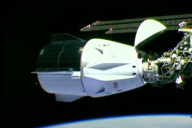 SpaceX Nasa Mission: Astronaut capsule set to dock with space station