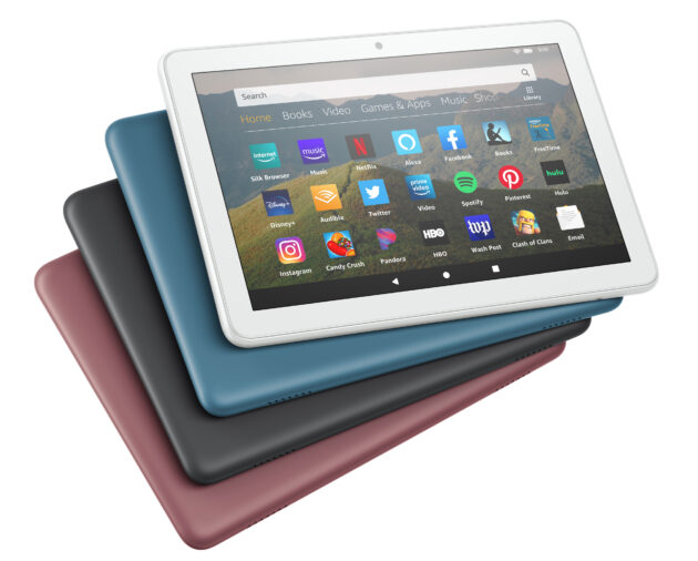 Amazon launches three new models of Fire tablet