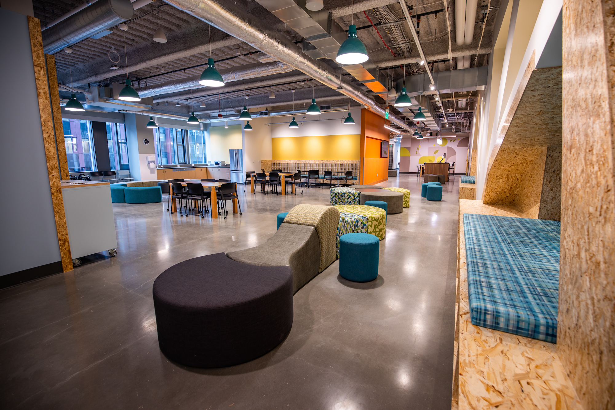 Photos: Inside Amazon's new 8-floor family homeless shelter attached to its Seattle HQ
