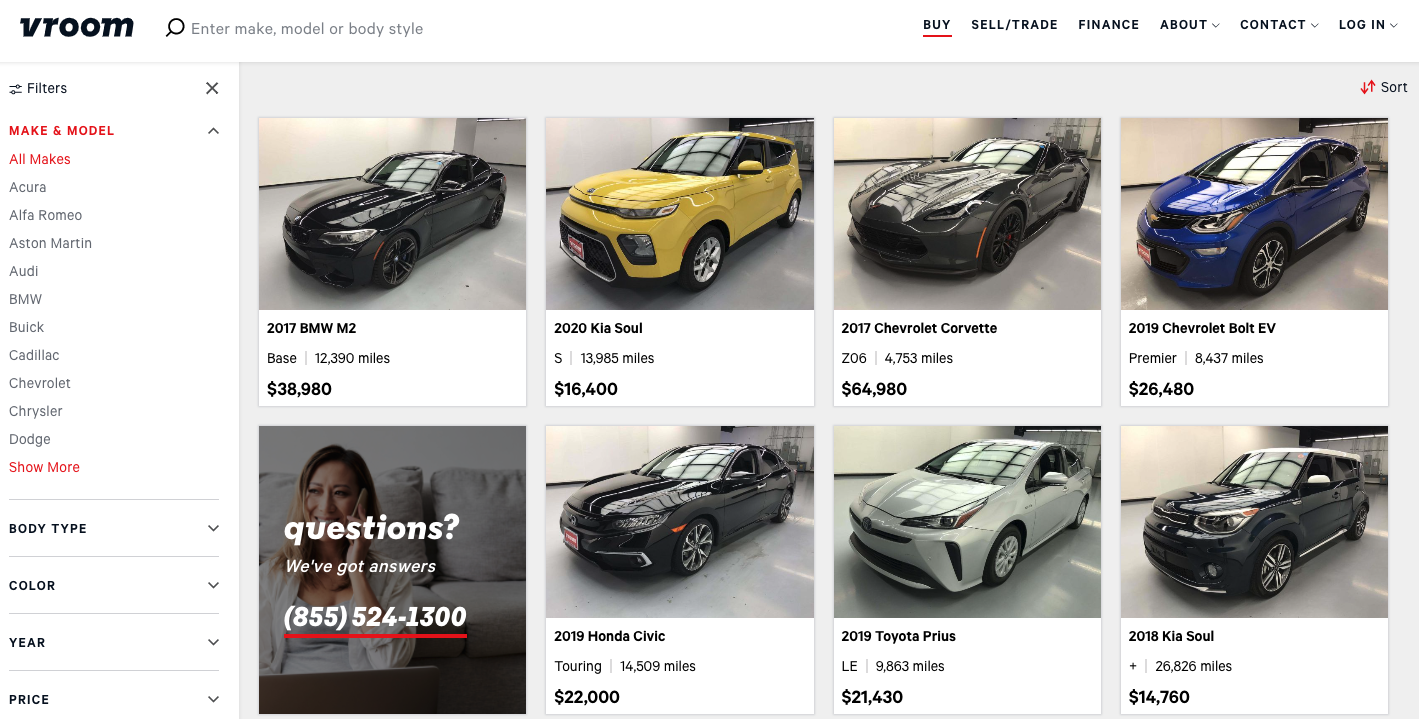 Shares Of Bill Gates Backed Online Used Car Seller Vroom Double On First Day Of Trading Geekwire
