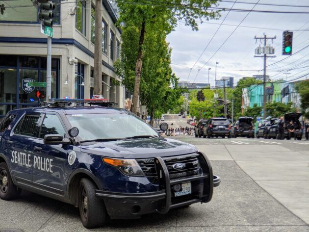 Seattle Police Will Use Body Cameras During Protests Under New Policy Geekwire