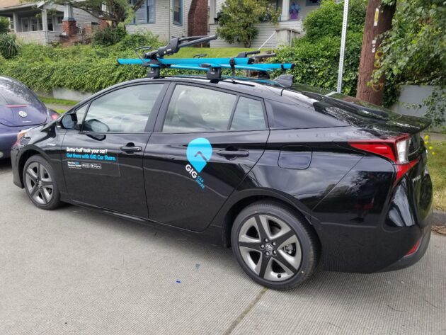 Car-sharing returns to Seattle, but will it last? Testing AAA's new GIG service amid a pandemic
