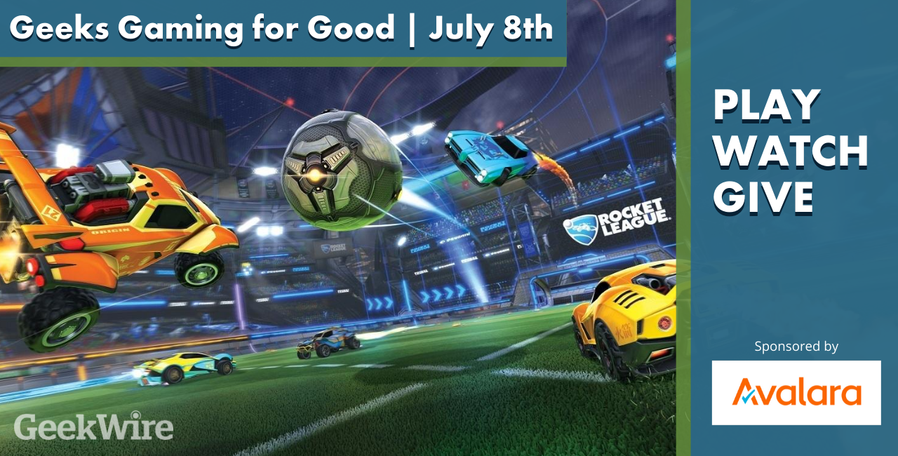 Geeks Gaming for Good: What you need to know for GeekWire's first-ever Rocket League tournament