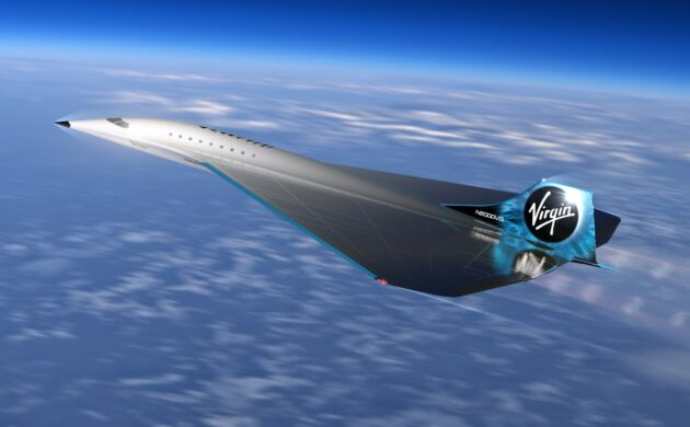 Virgin Galactic unveils supersonic airplane concept with Boeing and Rolls-Royce as supporters