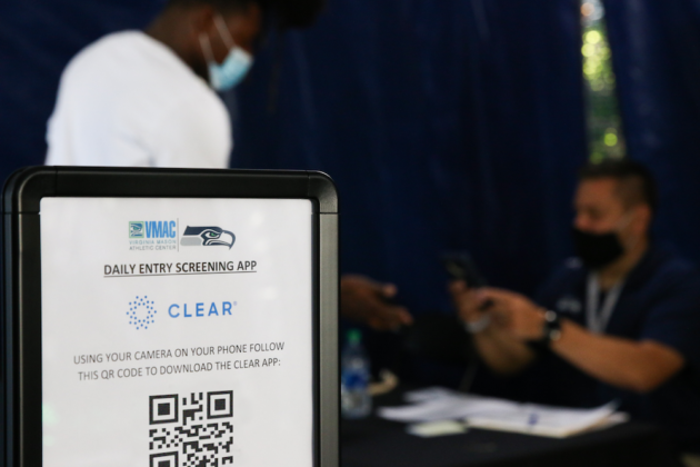 Seattle Seahawks become first NFL team to use CLEAR's COVID-19 screening tool