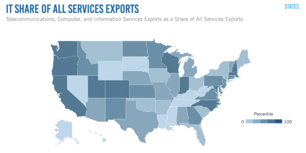 Report: Washington state's tech economy is robust; 13.2% of the workforce holds a job in tech