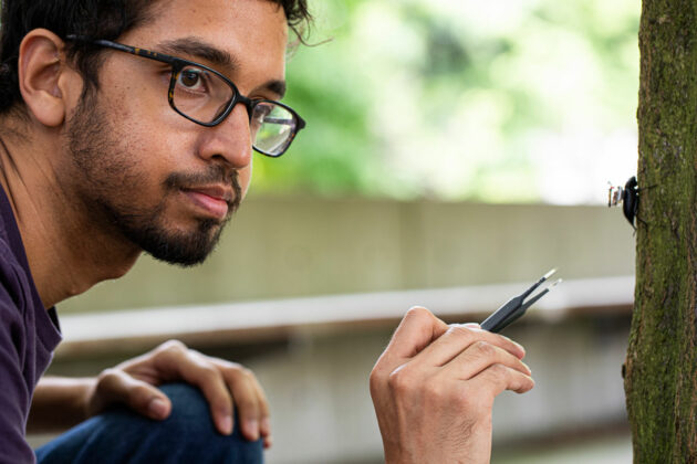Geek of the Week: UW's Vikram Iyer uses small insects to tackle big wireless computing problems
