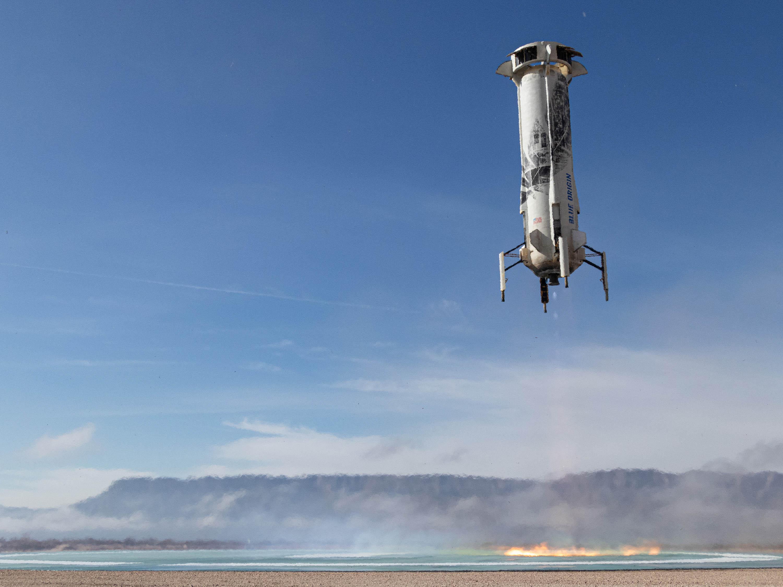 After weeks of delay, Blue Origin sets up suborbital space mission to test NASA landing technology