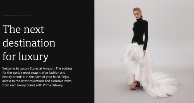 Amazon launches 'Luxury Stores' to bring high-end fashion brands to Prime shoppers on mobile