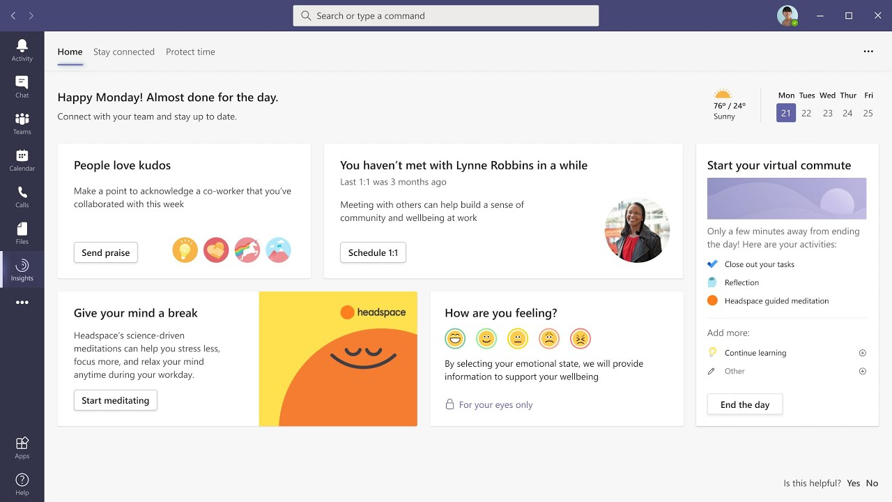 Microsoft Teams getting breakout rooms, virtual commute, and new 'Together Mode' backgrounds - GeekWire