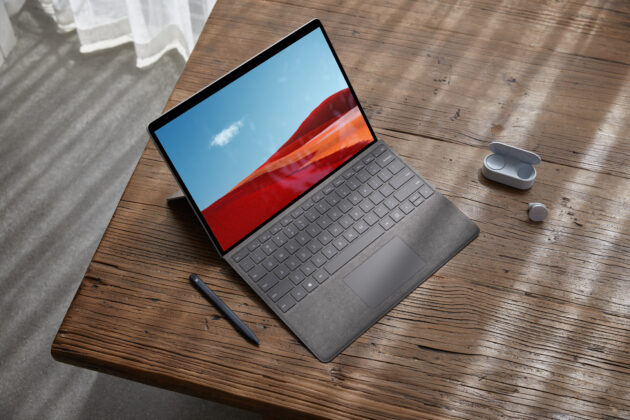 The upgraded Surface Pro X