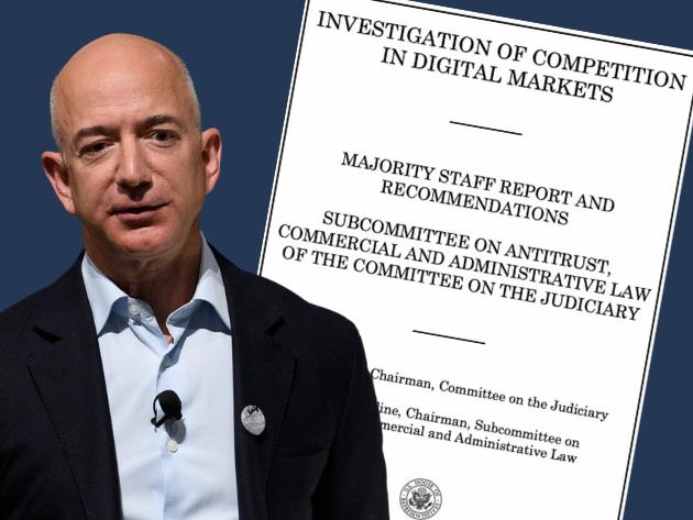 New federal antitrust legislation puts Amazon, Big Tech on notice and on target