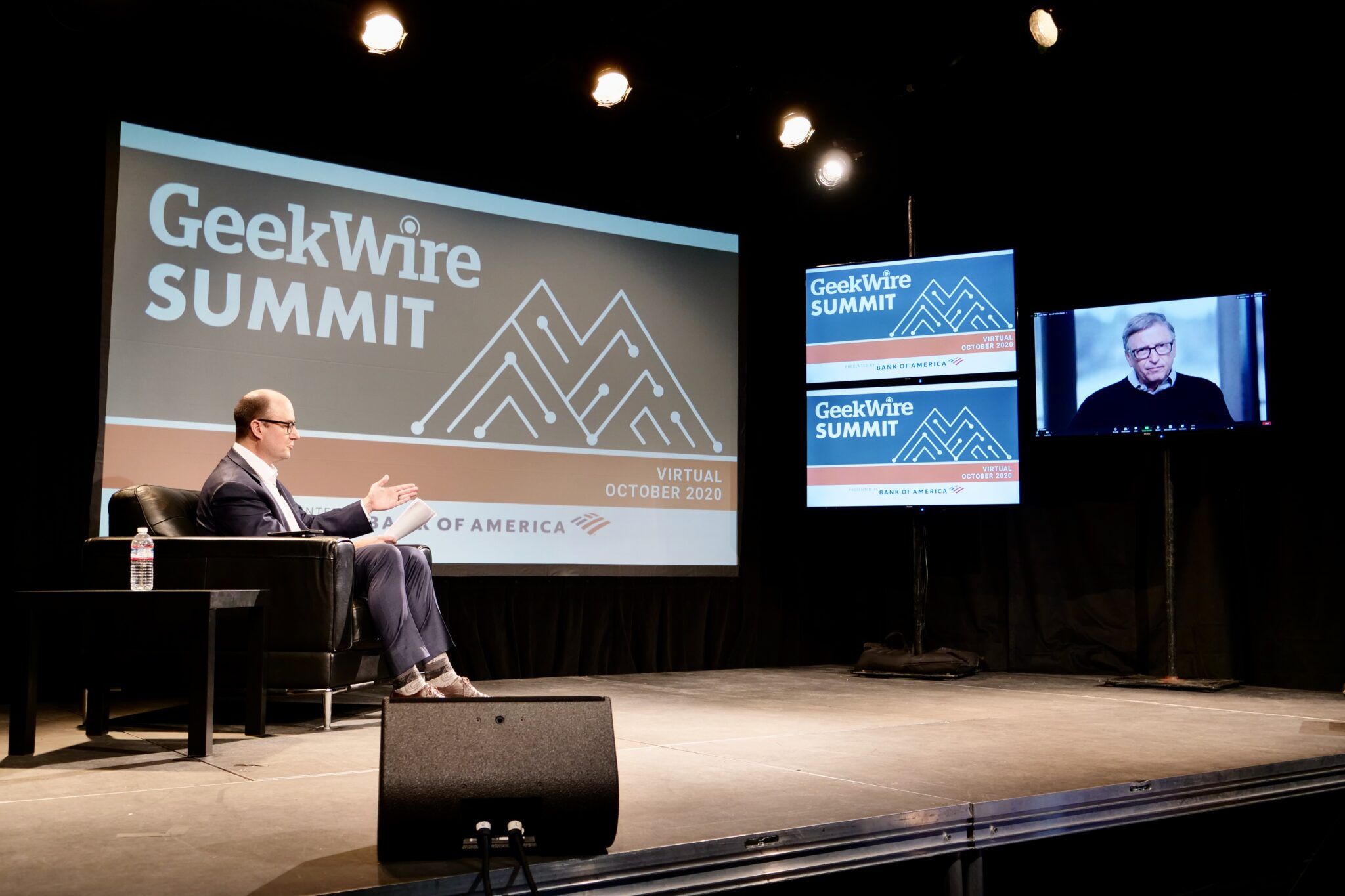 GeekWire Summit: Bill Gates says world can avoid climate 'disaster,' if we learn lesson from pandemic