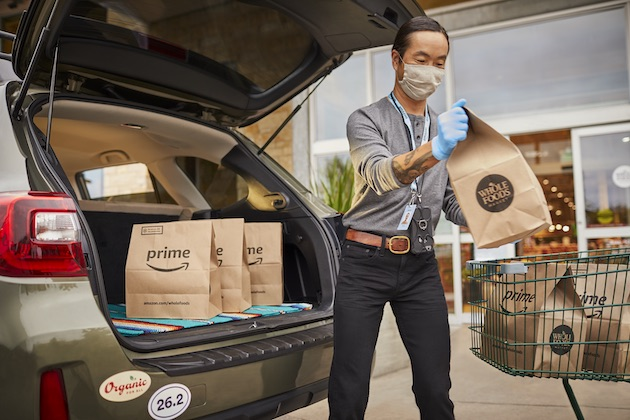 Amazon now offering one-hour curbside pickup for Prime shoppers at all Whole Foods locations