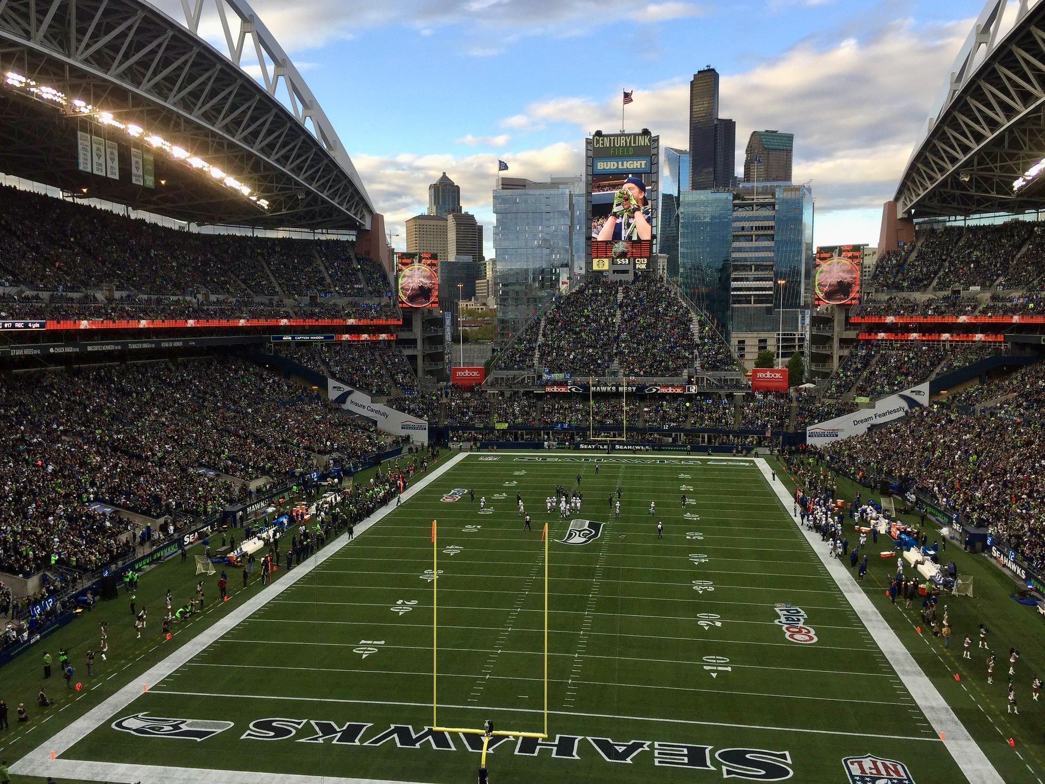 Seattle's CenturyLink Field, home of the Seahawks and Sounders, to be renamed Lumen Field