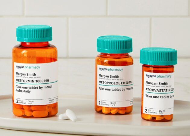 Amazon Pharmacy Lets You Order Prescription Meds Using an App