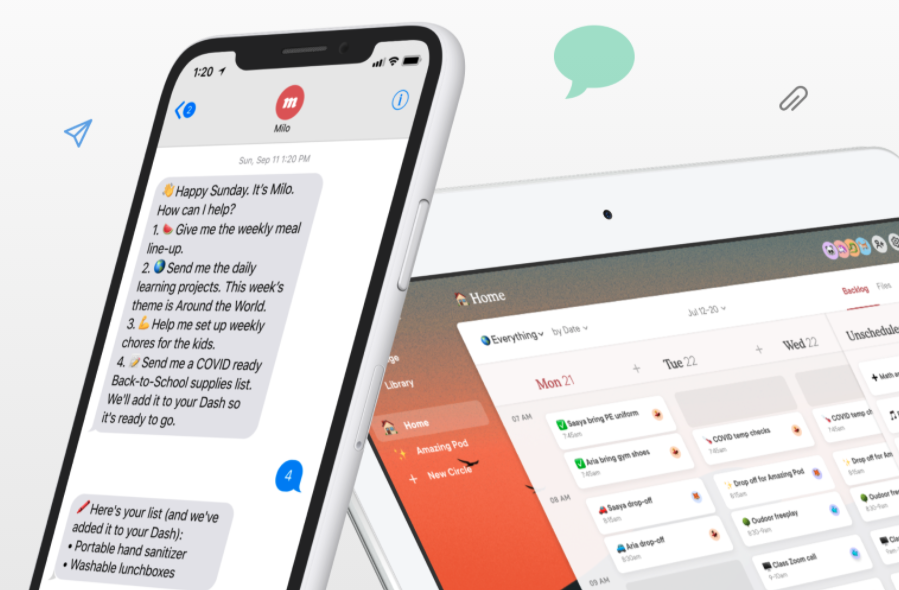 Poppy founder creates 'Milo,' a new software tool to help manage 'the most important team' — family