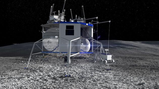 Blue Moon cargo lander