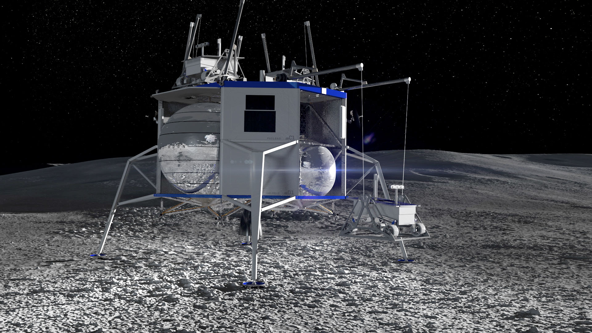 NASA agrees to purchase moon rocks for $1 in a deal that may involve Blue Origin