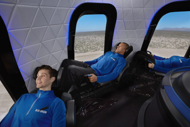 Watch Blue Origin fly its first capsule that's designed to send people to space and back