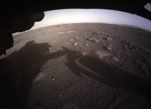 Perseverance rover en Marte