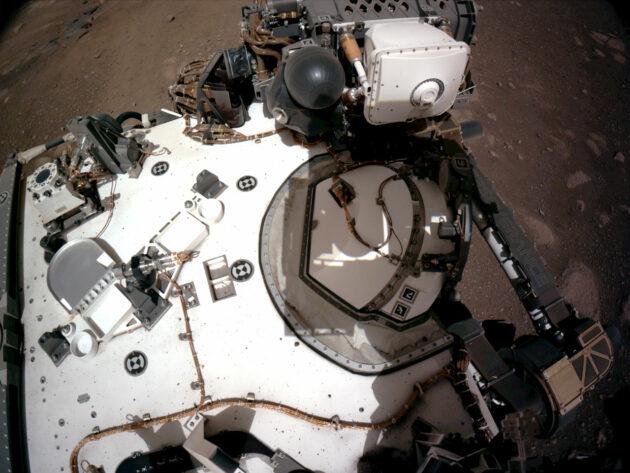 Rover's instrument deck