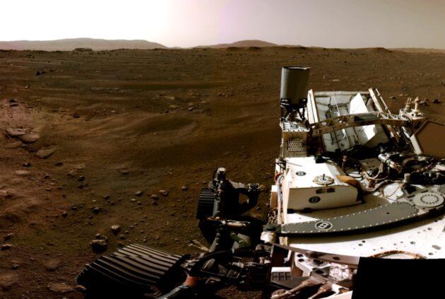 Mars Perseverance panorama