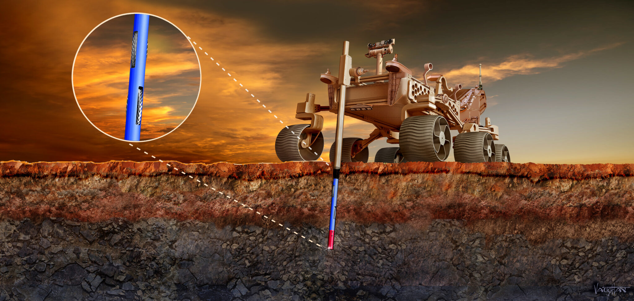 NASA backs concepts for deep-drilling Mars rover and interstellar-object probe
