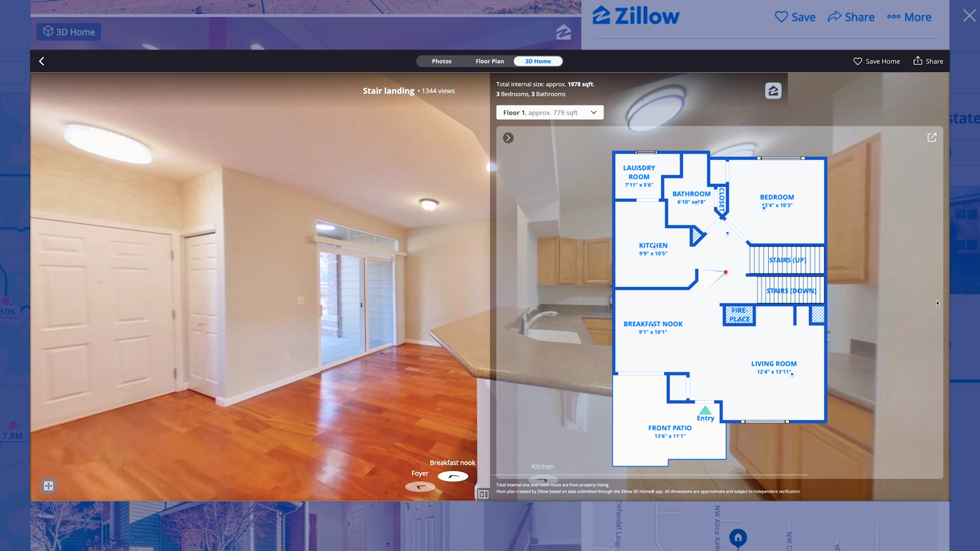 Zillow Surfing 2.0: Real estate giant uses AI to beef up virtual touring tool