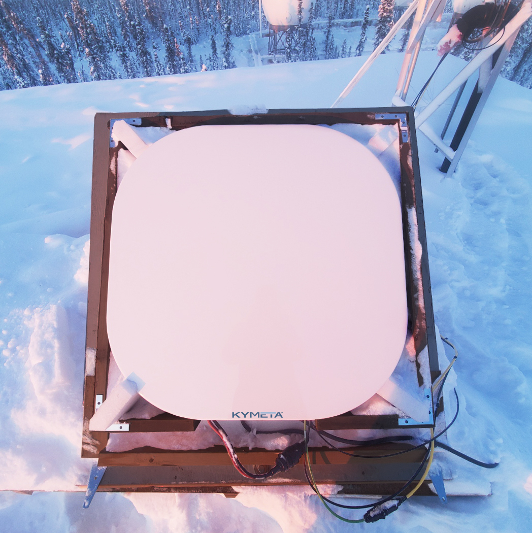 Kymeta and Kepler team up to demonstrate satellite connectivity in Arctic deep freeze
