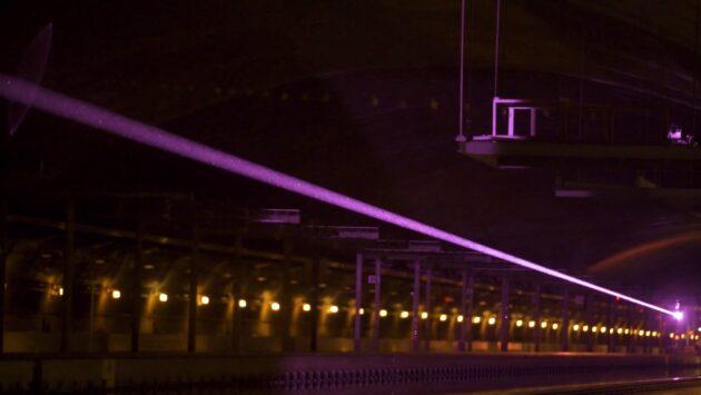 Laser demonstration