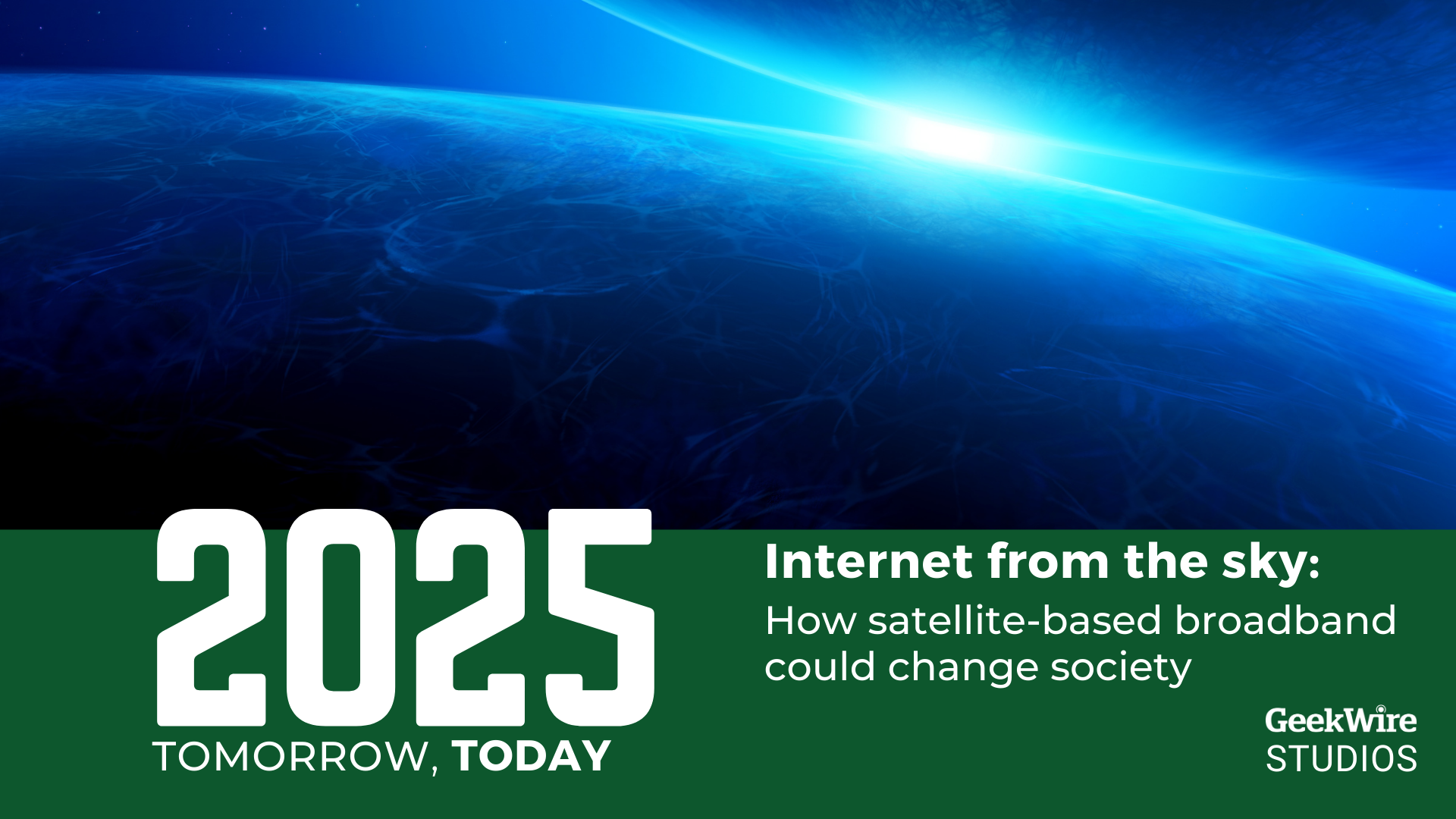 How Starlink, Project Kuiper and other satellite broadband providers could change society