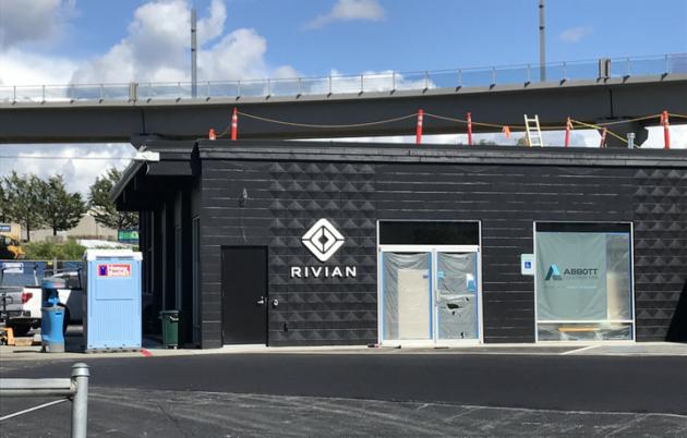 Rivian facility in Bellevue