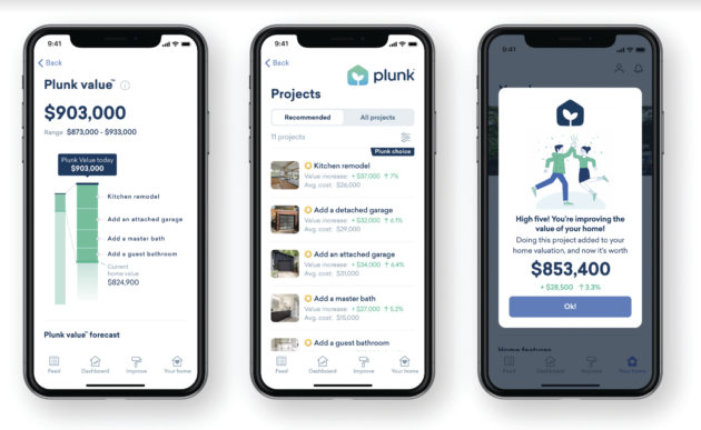 How will that remodel help boost your home value? Seattle startup Plunk raises $6.5M to find out