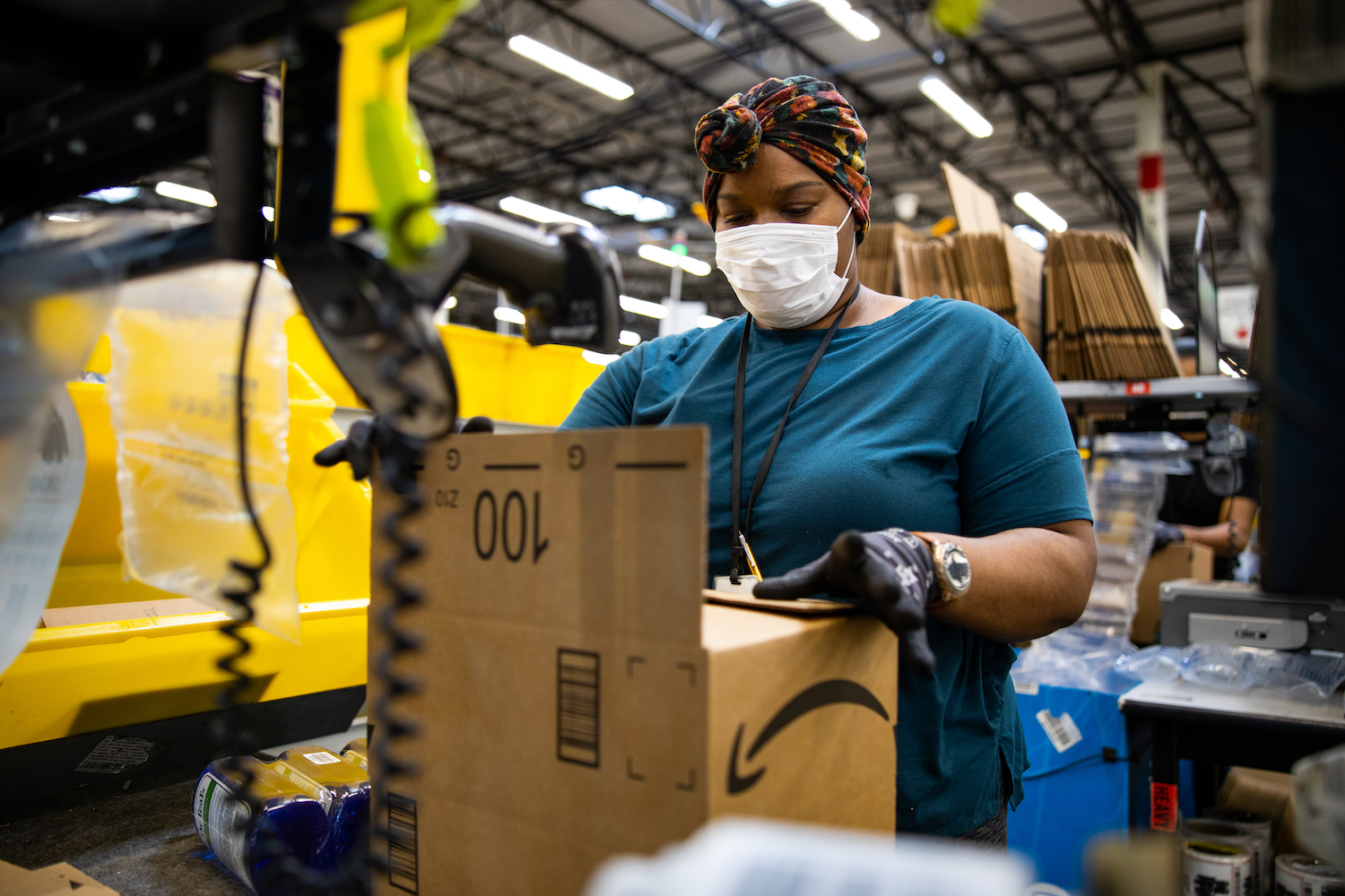 Amazon adds mental health benefit for U.S. workers with access to counseling, crisis support and more