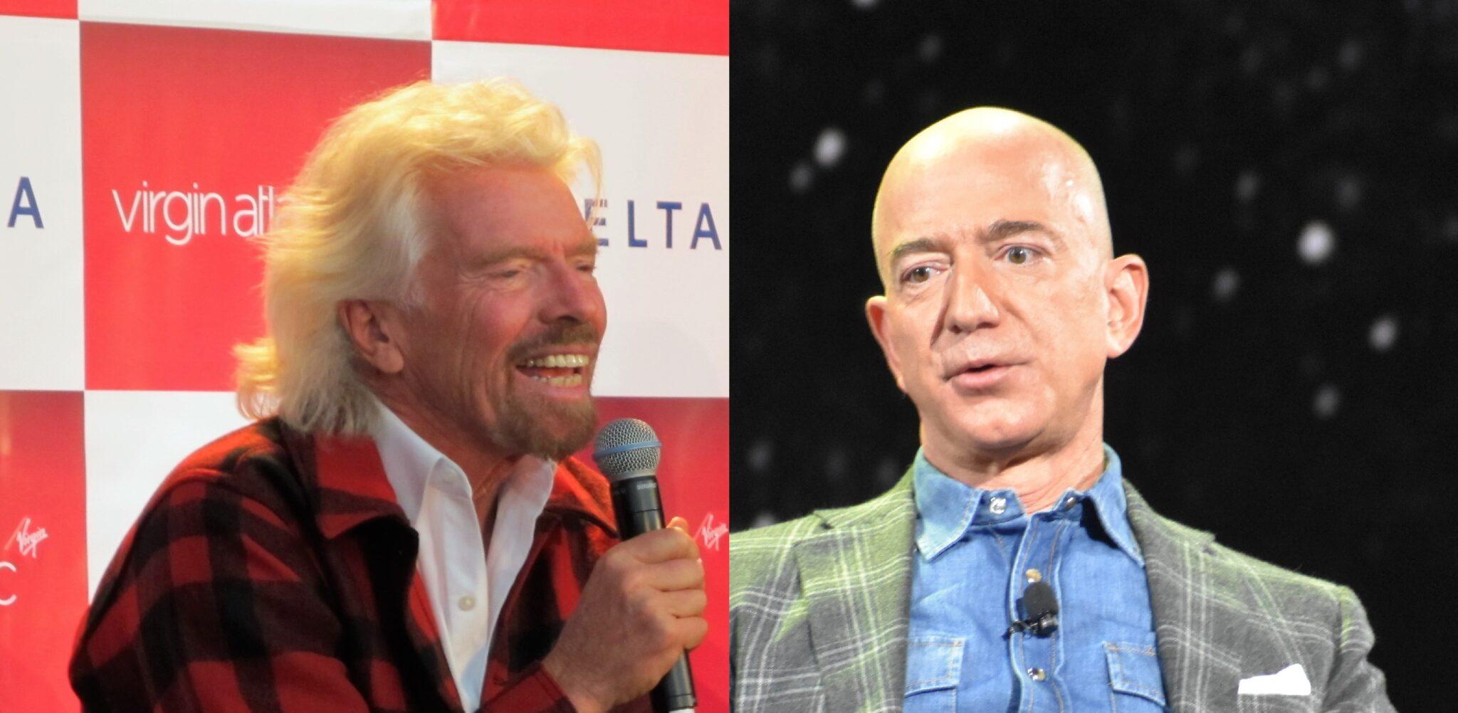 Jeff Bezos' Blue Origin fuels feud with Richard Branson's Virgin Galactic over suborbital space trips