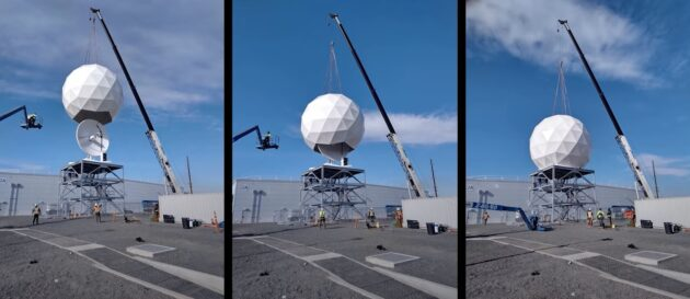 Ground station construction  - 210622 azure 630x273 - Microsoft joins space industry group to boost cybersecurity