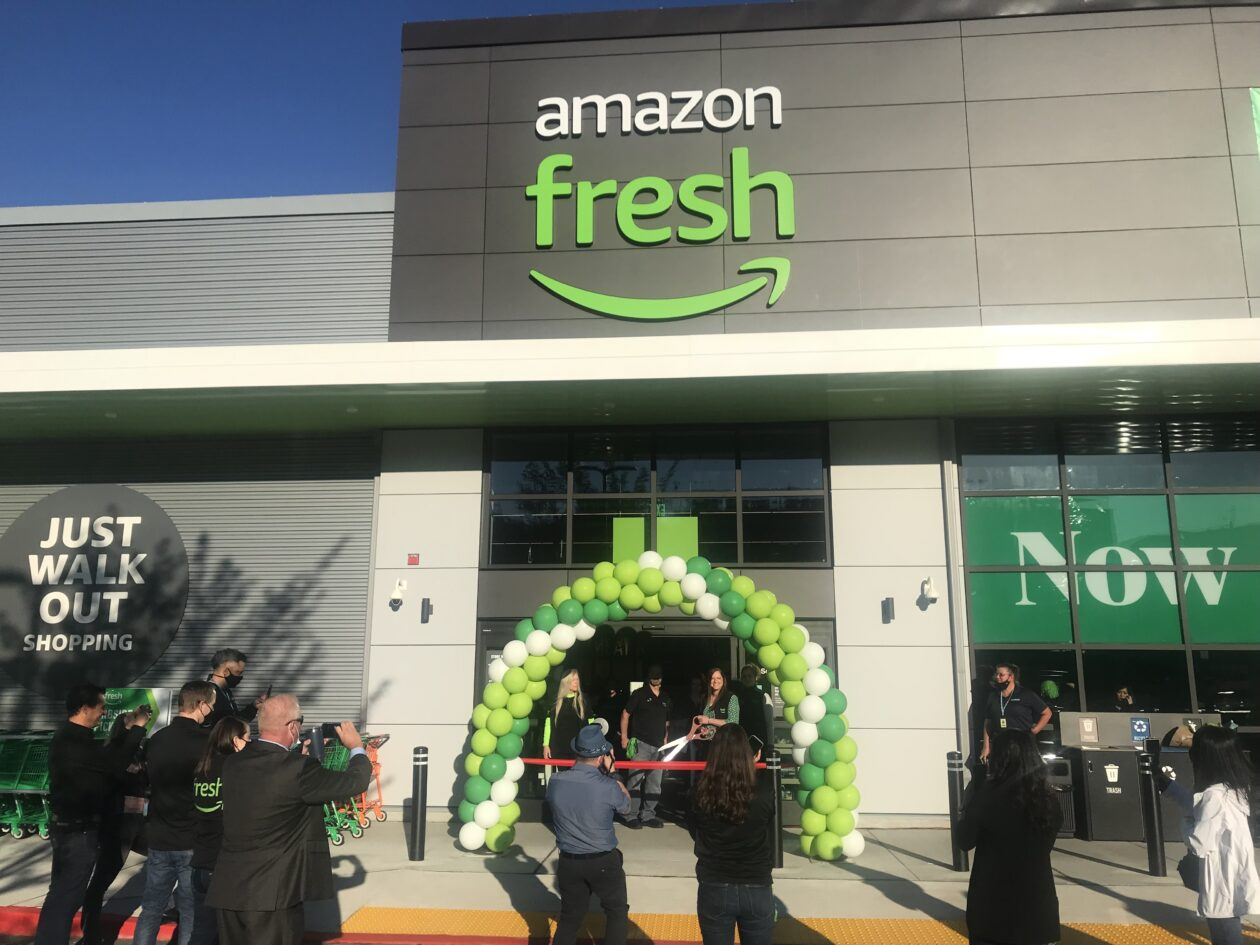 Amazon Fresh opening