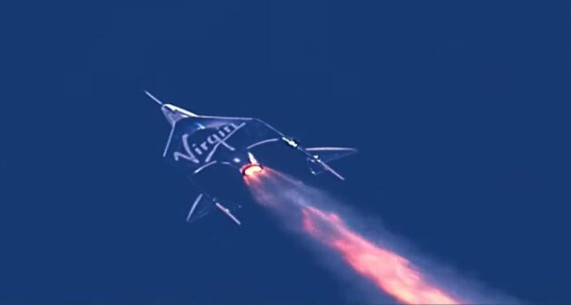 SpaceShipTwo launch
