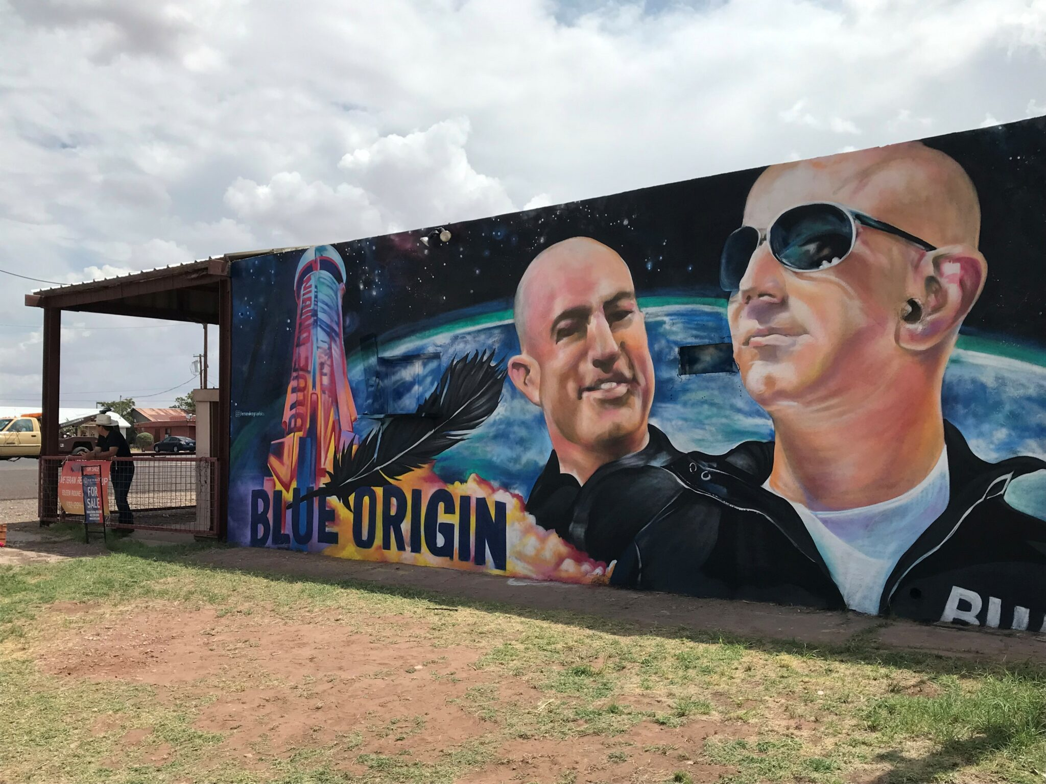 Blue Origin's space shots give tiny Texas town a boost that's bigger than expected