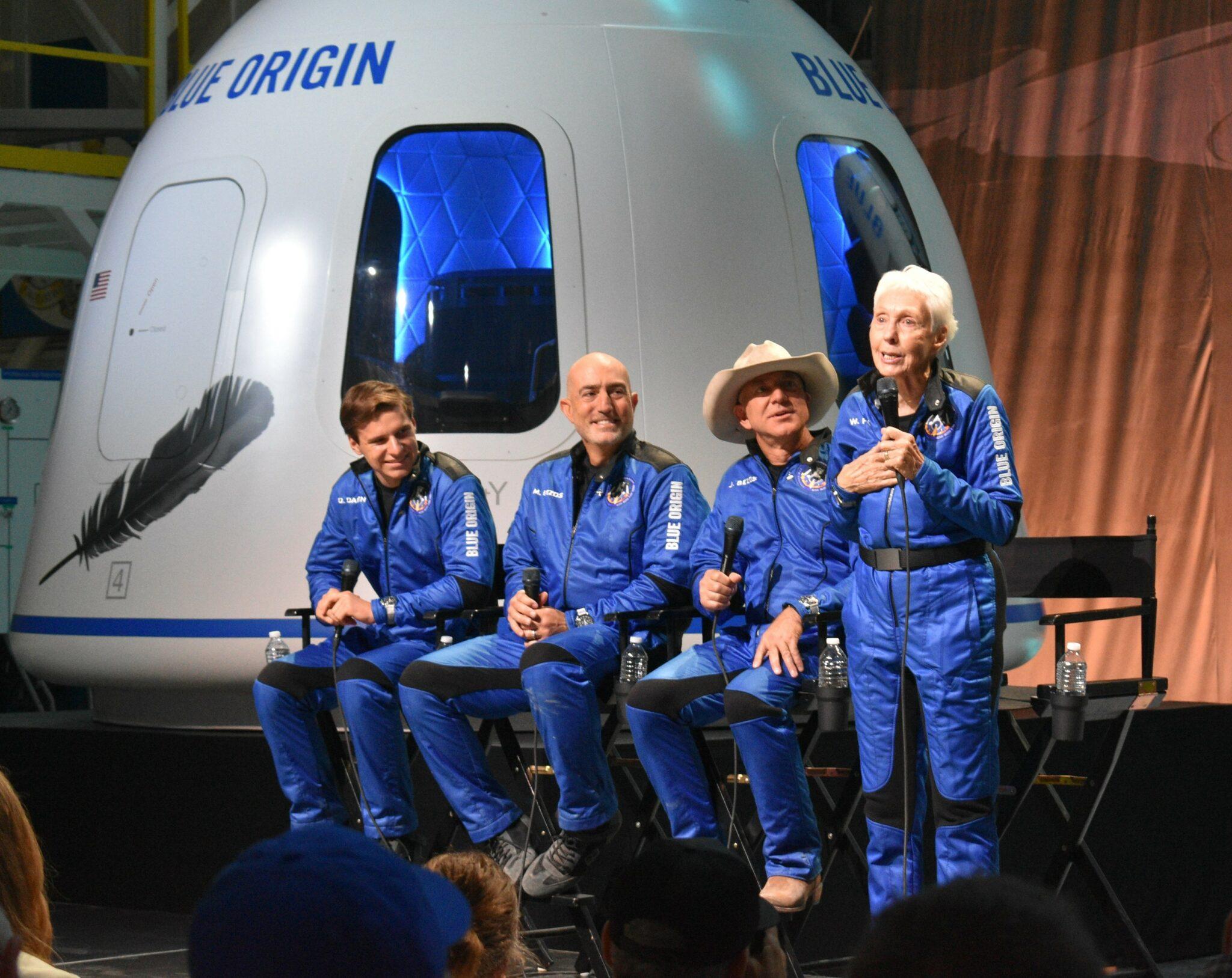 Blue Origin's suborbital space ticket sales are nearing $100M, Jeff Bezos says