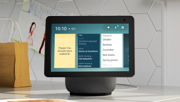 Amazon gives developers access to Alexa device home screens, aiming to revitalize market for skills