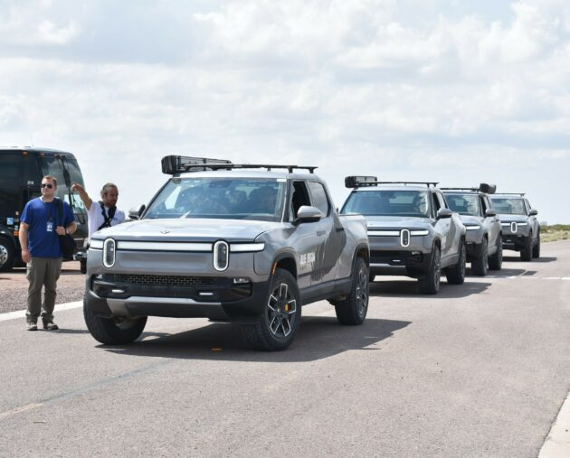 Amazon-backed electric vehicle maker Rivian files to go public at reported $80B valuation