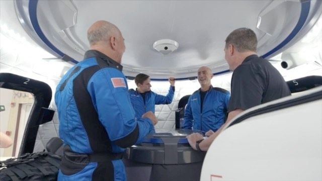 Jeff Bezos says that he's excited, but not nervous, on the eve of his suborbital spaceflight